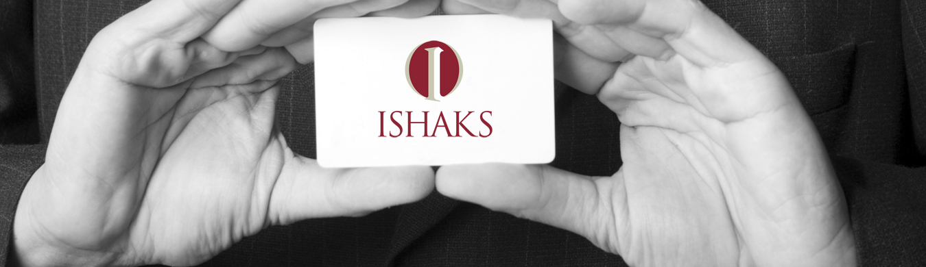 Holding Business Card